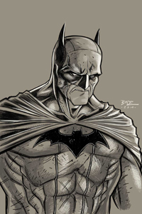 Batman Grey by Ryan Bodenheim LITE
