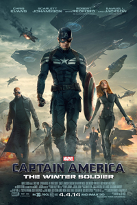Captain America The Winter Soldier Poster LITE