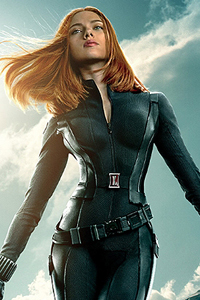 Captain America Winter Soldier Black Widow Poster LITE