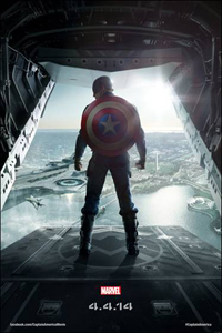 Captain America Winter Soldier Poster LITE