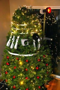 Dalek Christmas Tree