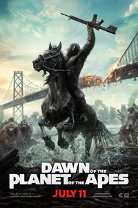 Dawn of the Planet of the Apes Poster LITE