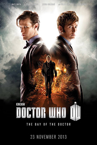 Doctor Who 50th Anniversary Poster LITE
