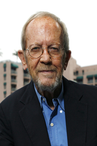 Author Elmore Leonard Portrait Session And Book Signing At Book Soup