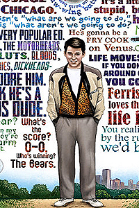 Ferris Bueller by Chet Phillips LITE EDITED