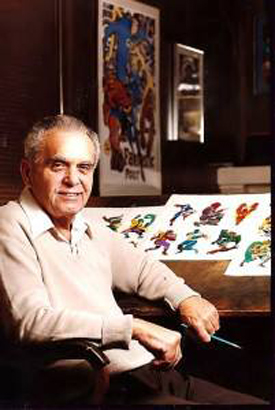 Jack The King Kirby at His Board