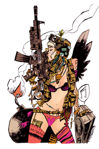 Jim Mahfood Tank Girl LITE