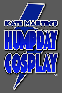 Kate Martin's HUMPDAY COSPLAY Logo LITE