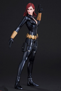 Marvel Now Black Widow Kotobukiya ArtFX Statue