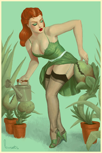 Miss Poison Ivy by Devin Lawson LITE