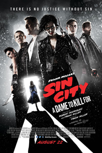 Sin City A Dame To Kill For Poster LITE