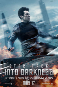 Star Trek Into Darkness Cumberbatch One Sheet LITE