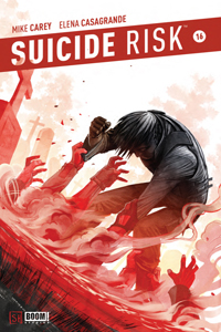 Suicide Risk #16 Cover