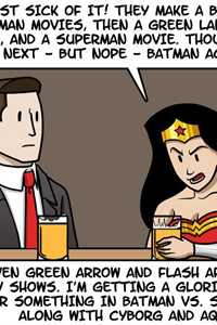 The Trouble With Wonder Woman by Julia Lepetit and Andrew Bridgman