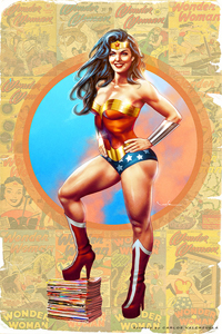Wonder Woman by Carlos Valenzuela LITE